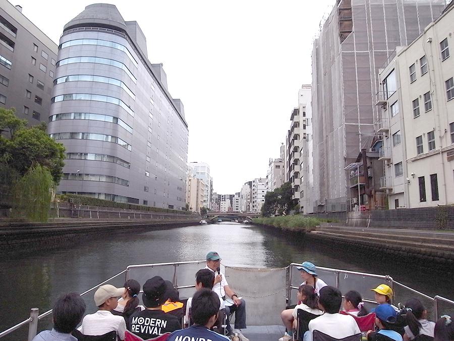 亀島川の風景